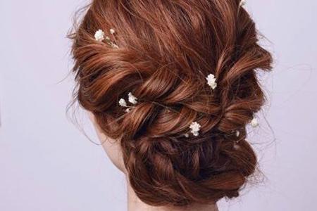 愿你浪漫陪伴一生,带有幸福感味道的新娘发型
