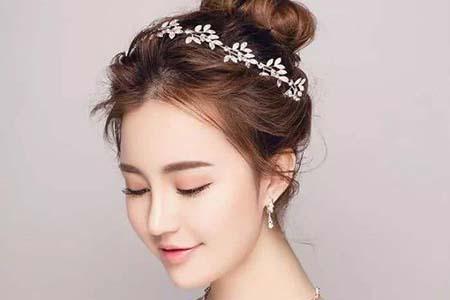 做新娘就要美美的,这几款新娘发型充满仙气