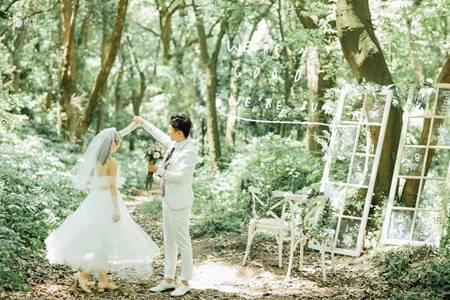 夏季如何拍户外婚纱照,三大选景打造唯美摄影照片