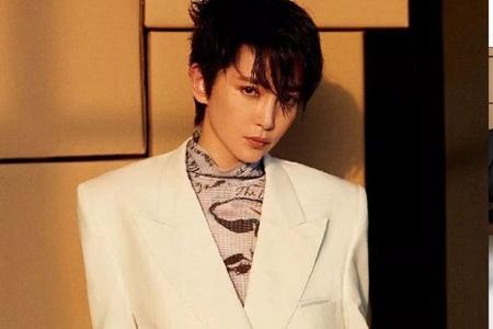 李冰冰剪帅气短发,40年龄不减魅力,男装造型上杂志封面