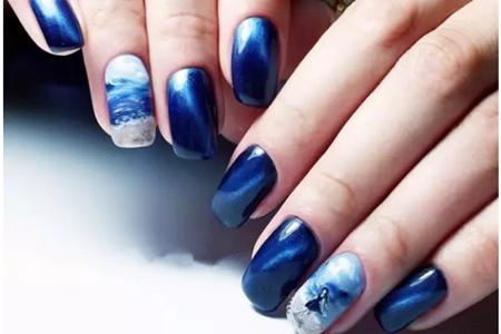 立秋美甲的最新款式,秋季流行指甲造型让你尝鲜