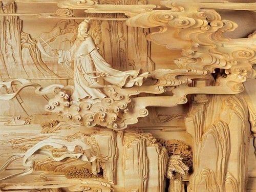 永春木雕,那些手工雕刻出的生命