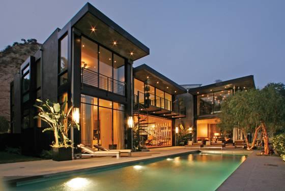 外国明星的豪华私人别墅