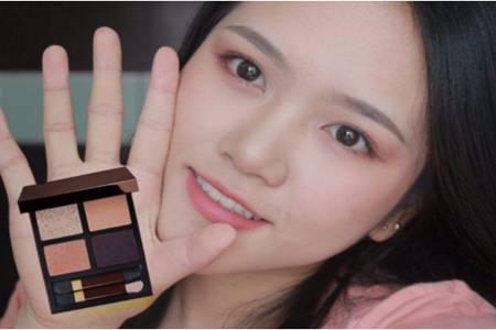 双眼皮眼影的正确化妆方法,眼影晕染的化妆步骤