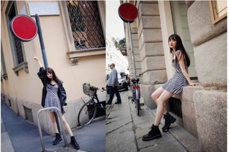 杨幂同款马丁靴帅气逼人,关晓彤宋祖儿都喜欢的硬朗搭配