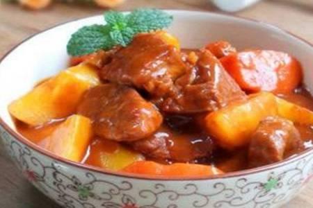 牛肉炖土豆的大厨级做法,家常炖牛肉也能做出好滋味