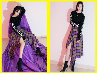 卫衣和裙子千万别这么搭配,古力娜扎和林志玲都变成小短腿了!