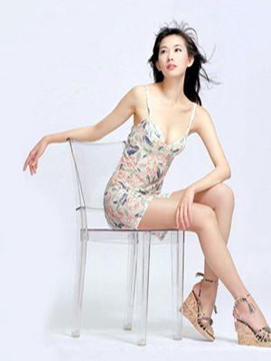 林志玲的这一条裙子有点儿尴尬