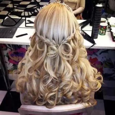 三种卷发棒的使用方法,自制美丽卷发