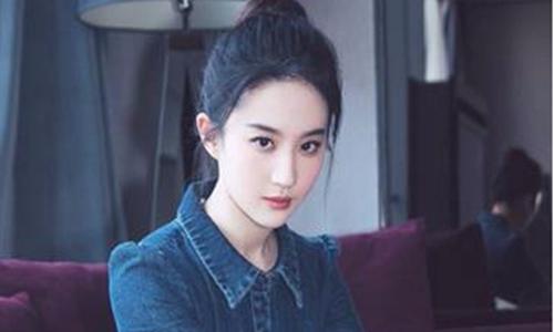 刘亦菲穿普通牛仔也能穿出国际风范,简直美到过分!