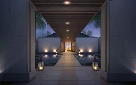 简约的新中式别墅设计