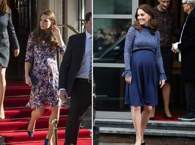 凯特王妃的妹妹孕肚明显,穿搭也不错?