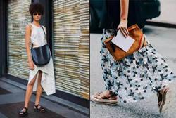 一双运动风凉鞋,助攻帅气女人的时尚感