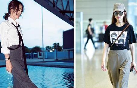 白百何和唐嫣年龄相差一岁,但是散发的魅力到底谁更胜一筹?