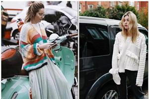 秋季毛衣选择,这三款让你温柔俏丽又保暖