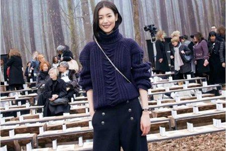 穿搭秘诀│毛衣搭配阔腿裤,时髦女人的秋冬专属