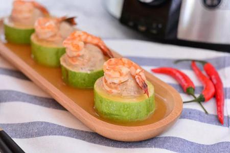 女生最喜欢的西葫芦鲜虾肉羹,美味不长胖