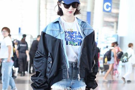 美女明星都穿飞行夹克,活力十足出行怎么少了它