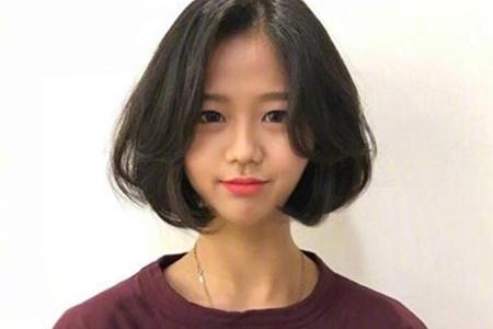 充满少女感的三款短发发型,让你青春又活力