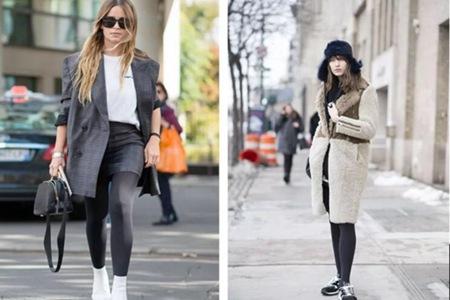 女人这条打底裤袜,轻盈显瘦还巨时尚,18年的秋冬稳了