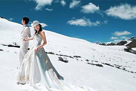 姑娘们想要冬季轻松拍婚纱照,这几样东西你要自己带