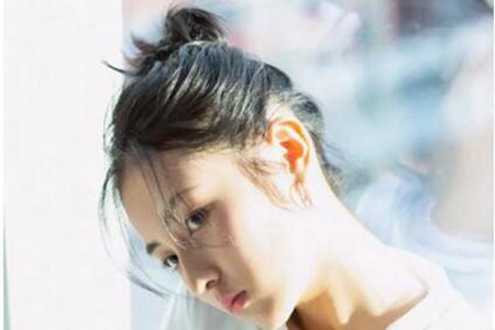 张子枫的灵气全靠发型,这样打造你也能嫩成18岁