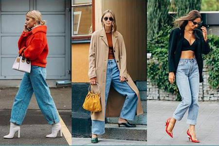 女性不会穿阔腿牛仔裤?这些显瘦时尚搭法已经准备好了