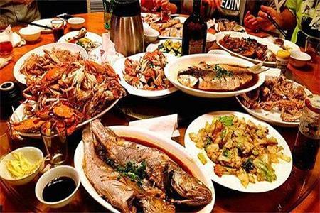 年夜饭的海鲜阵容,女性减肥低脂的佳肴