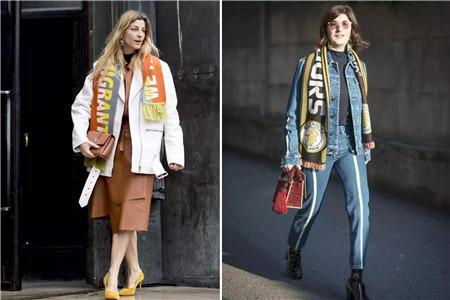 围巾不可缺少的三种款式,让女生的冬天充满温暖