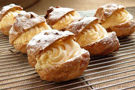 泡芙也能做出不同花样,三款高颜值甜品美不胜收