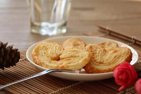 自制美味蝴蝶酥,欧式甜品香气浓郁