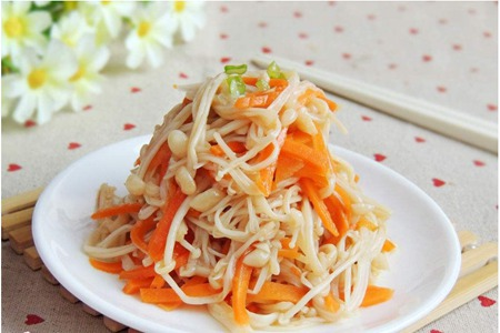 清脆爽口胡萝卜的做法,春季食用养颜抗病菌