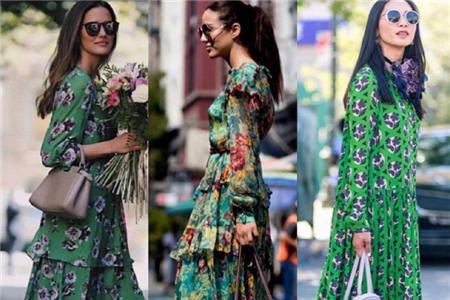 夏季时髦连衣长裙,穿出女性应该拥有的自信