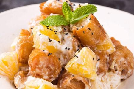 油条的新式美味做法,你知道它还可以和菠萝一起吃吗