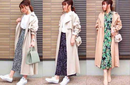2019年日式流行时尚风格服饰混搭技巧搭配,女性的魅力法宝