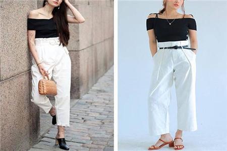 年度最热单品,纸袋裤的穿搭技巧盘点