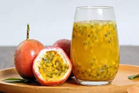 百香果果汁酸甜味道,这三种食用方法更养颜