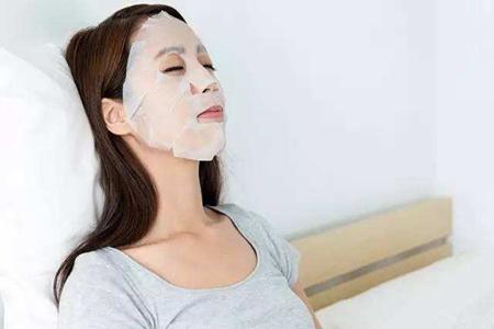 女生消除脸部皱纹,五个
