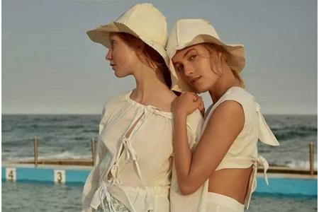 夏日头巾、帽子的戴法,女生如何打扮出美丽造型