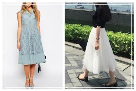 小个子女生的长裙挑选攻略,穿衣搭配有套路