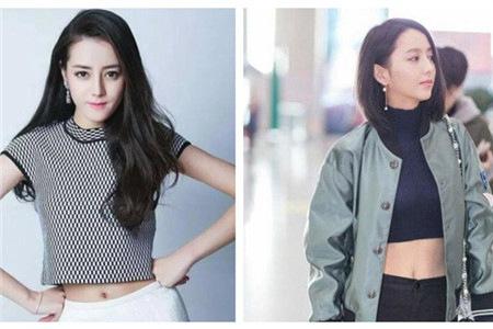 佟丽娅、奚梦瑶、刘亦菲的蚂蚁腰,女星露脐装大盘点