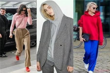 七种经典单品穿搭技巧,卫衣的时尚感不输任何服装