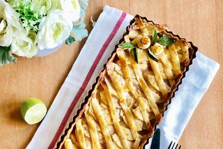 制作苹果派的超简单方法,一学就会水果甜品