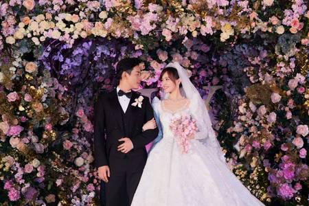 唐艺昕、唐嫣这些超甜cp的婚礼,如何办得这么浪漫