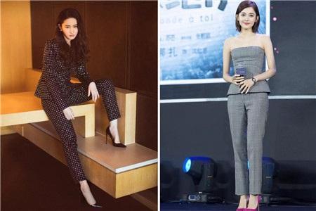 腿粗的女生穿这条裤子最显瘦,配上高跟鞋刘亦菲都爱它