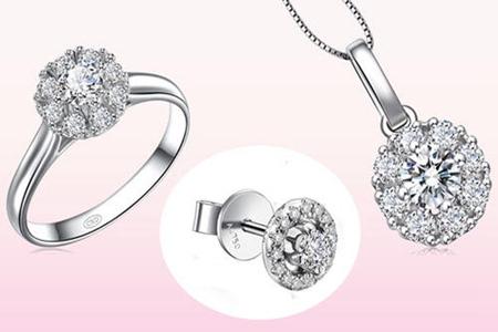 结婚必备首饰三件套如何选择,新婚钻戒唯美来袭