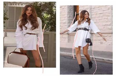 梨形身材怎么办,时尚杂志模特的高级搭配技巧