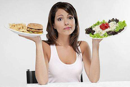 女生减肥一定要少吃吗,