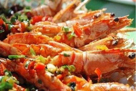 虾仁的三种家常做法,油焖、油炸、蒸粉丝的好吃菜谱