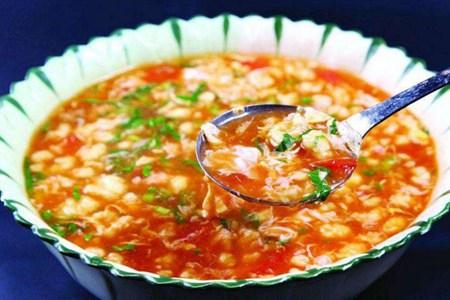疙瘩汤的简单制作食谱,夏季没胃口吃它就对了